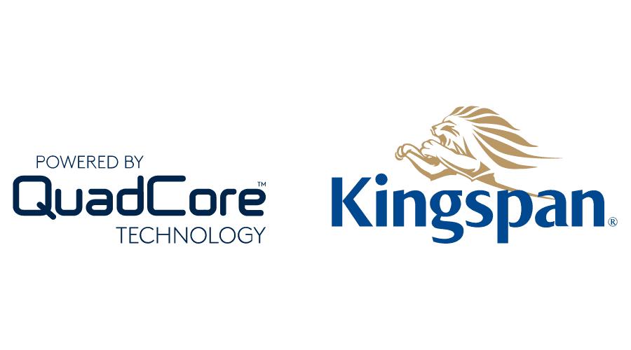 QuadCore TECHNOLOGY by Kingspan Logo Vector