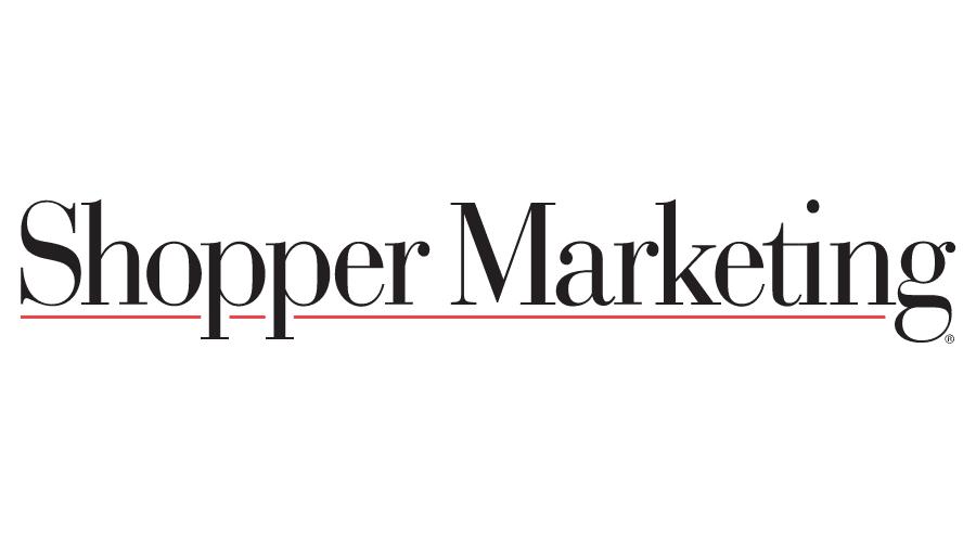 Shopper Marketing Magazine Logo Vector