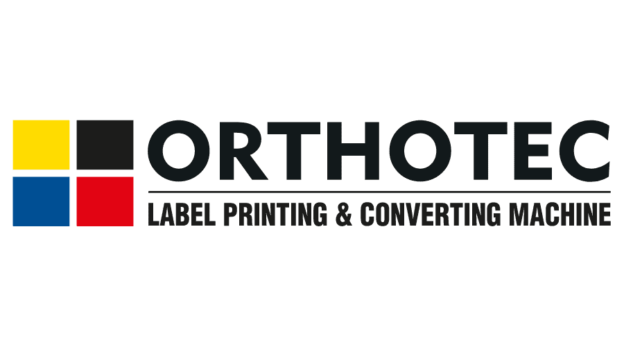 ORTHOTEC Label Printing & Converting Machine Logo Vector