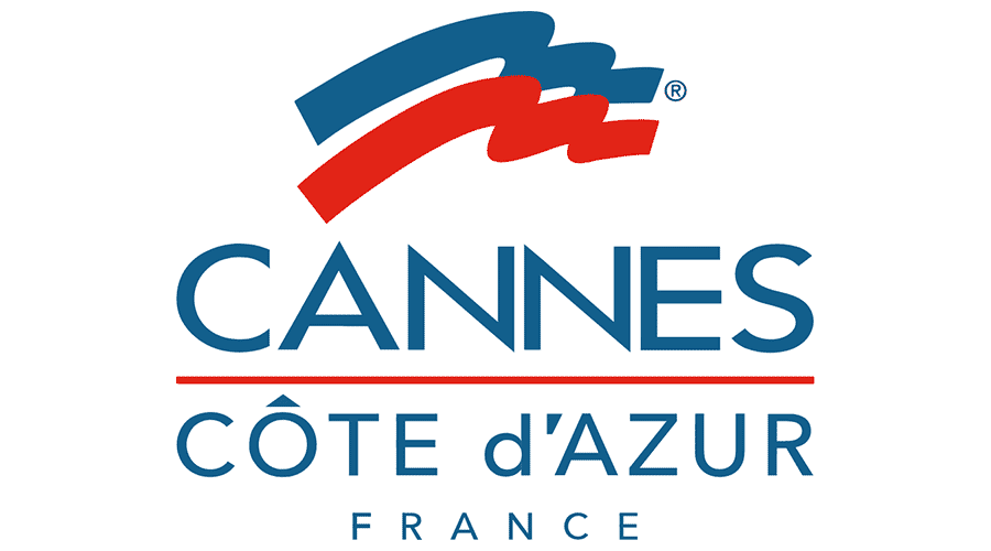 Cannes Côte d'Azur France Logo Vector