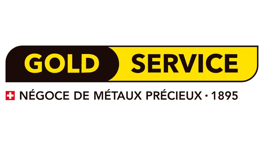 Gold Service Logo Vector