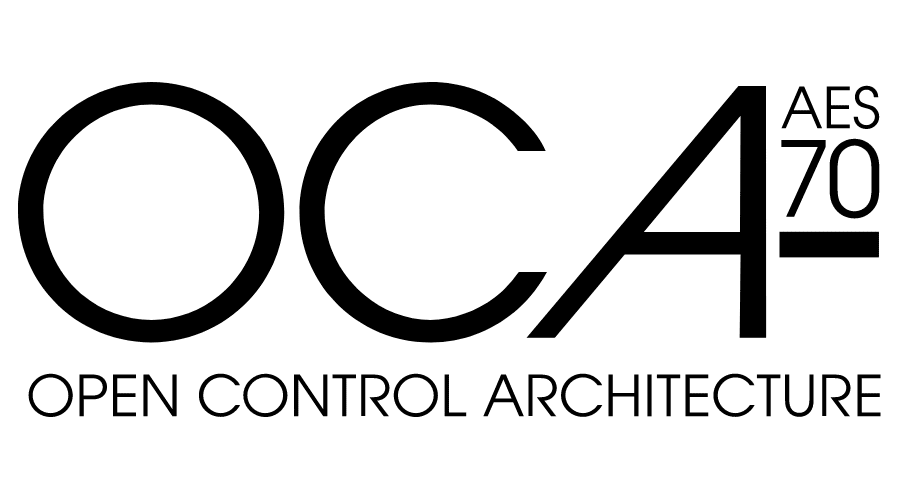 OCA Open Control Architecture AES70 Logo Vector