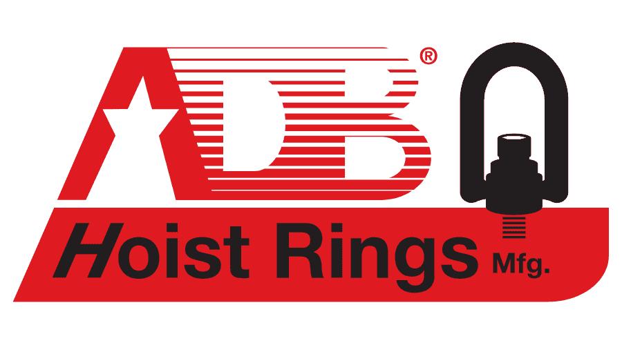 American Drill Bushing | ADB Hoist Rings Logo Vector