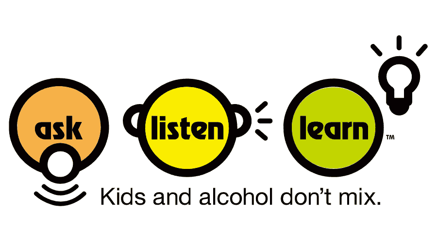Ask, Listen, Learn – Kids and Alcohol Don't Mix Logo Vector