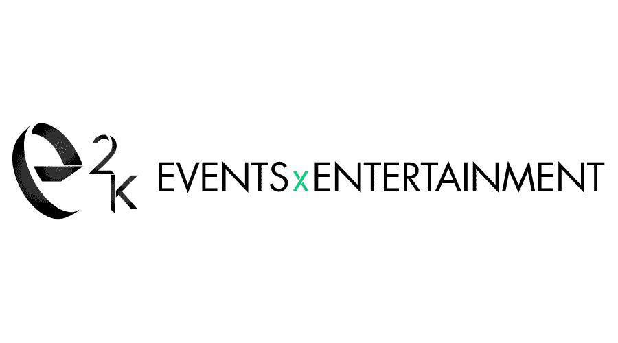 e2k events x entertainment Logo Vector