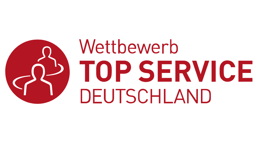 TOP SERVICE Deutschland Logo Vector