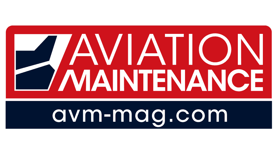 Aviation Maintenance Magazine Logo Vector