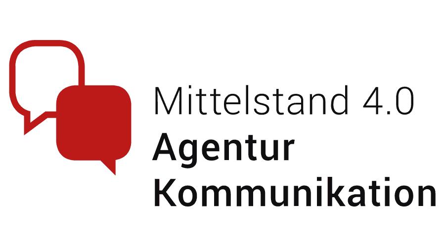 Mittelstand 4.0 Agentur Kommunikation Logo Vector