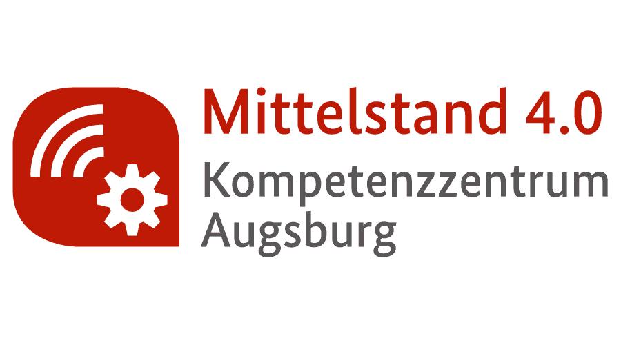 Mittelstand 4.0 Kompetenzzentrum Augsburg Logo Vector