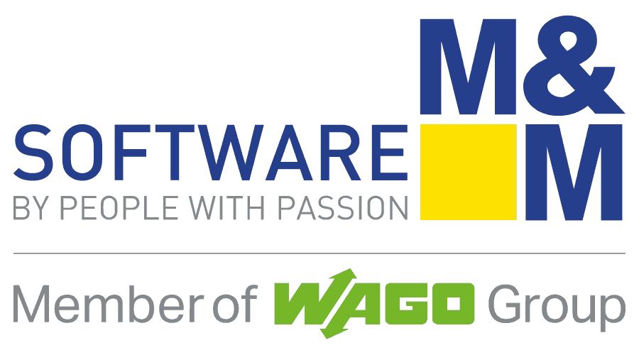 M&M Software Logo Vector
