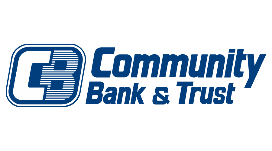 Community Bank and Trust Logo Vector