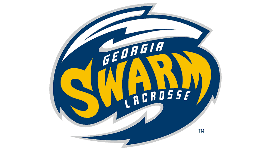 Georgia Swarm Pro Lacrosse Team Logo Vector