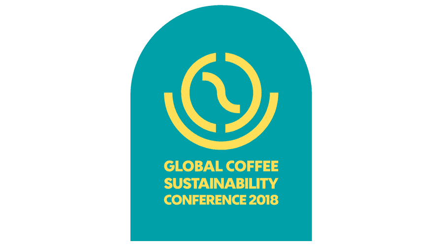 Global Coffee Sustainability Conference 2018 Logo Vector