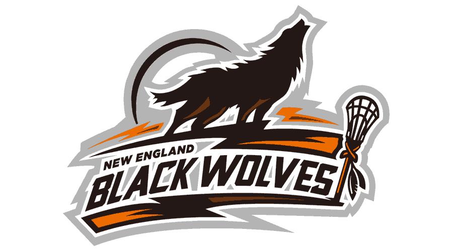 New England Black Wolves Logo Vector