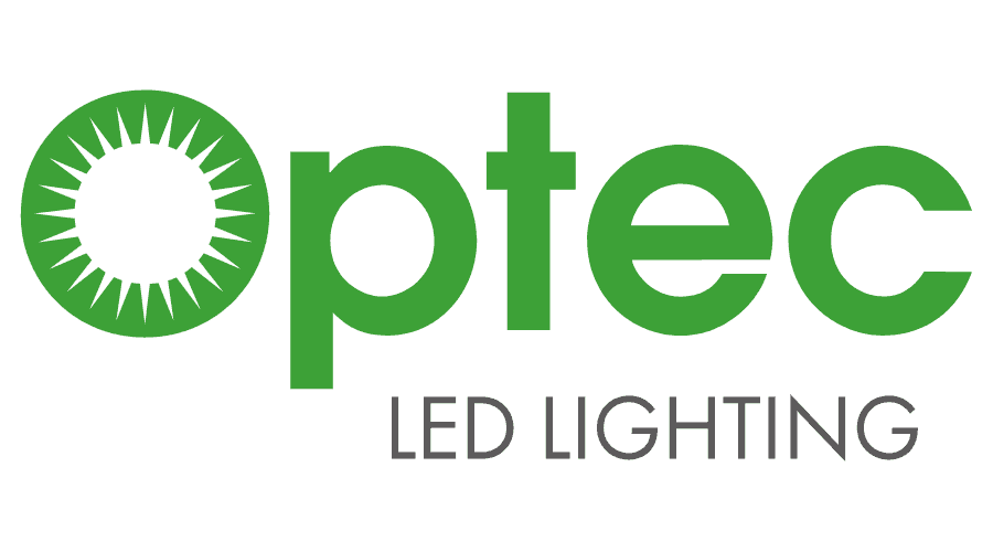 Optec LED Lighting Logo Vector