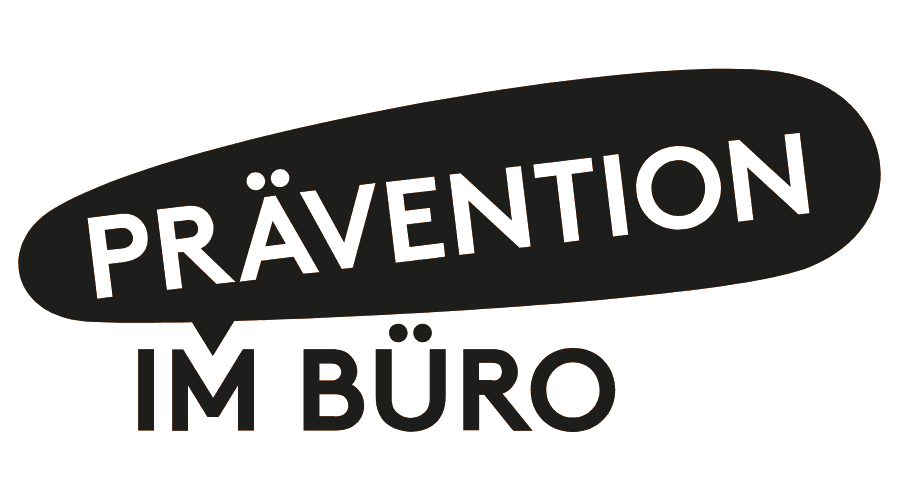 Prävention im Büro Logo Vector