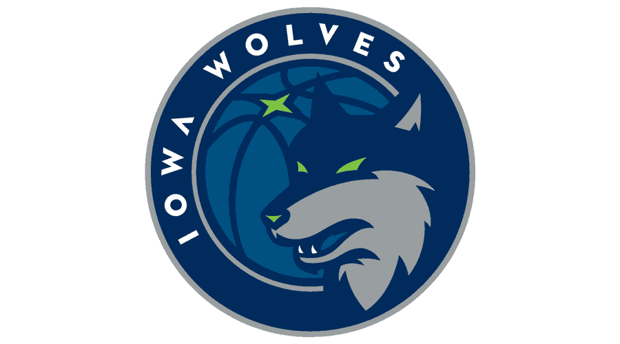 Iowa Wolves Logo Vector