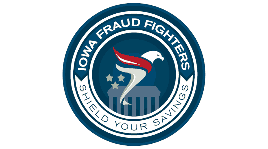 Iowa Fraud Fighters Logo Vector's thumbnail