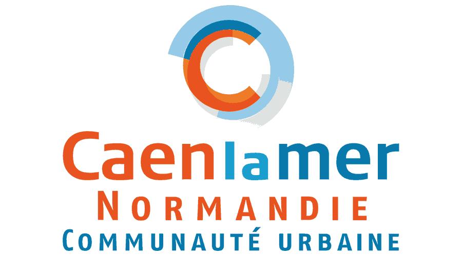 Communauté urbaine Caen la mer Normandie Logo Vector