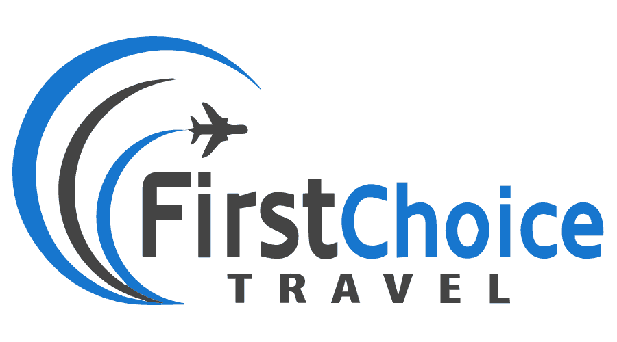 First Choice Travel Logo Vector