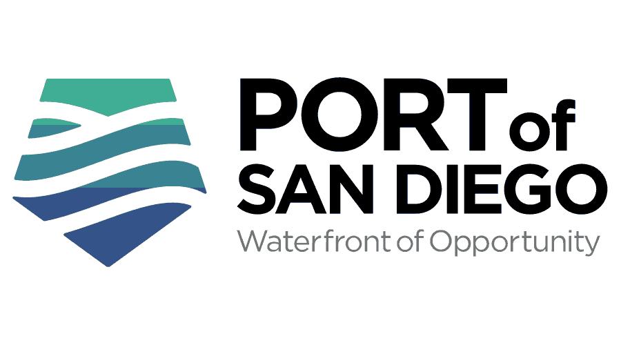 Port of San Diego Logo Vector