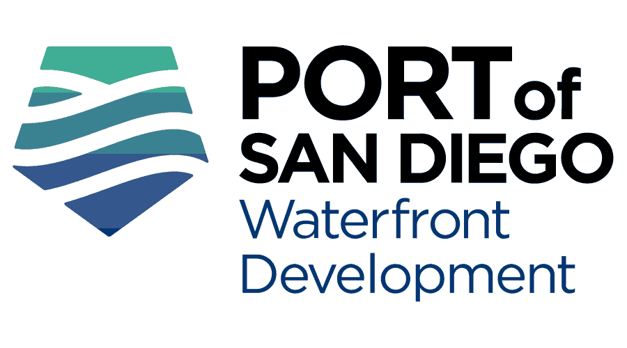 Port of San Diego Waterfront Development Logo Vector