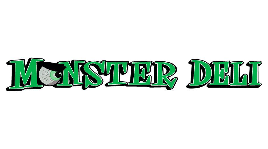 The Monster Deli Logo Vector