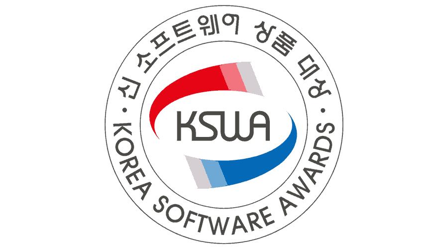 KSWA Korea Software Awards Logo Vector