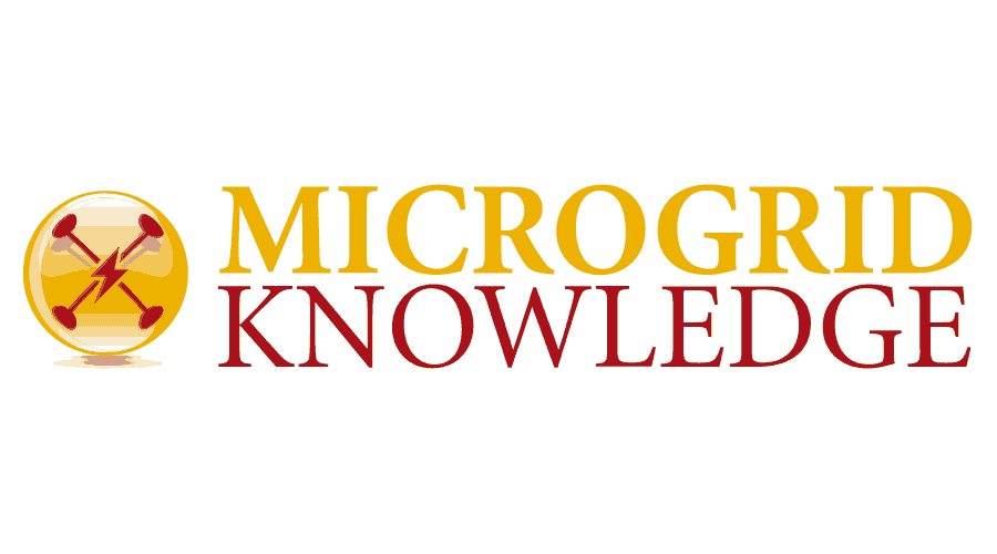 Microgrid Knowledge Logo Vector