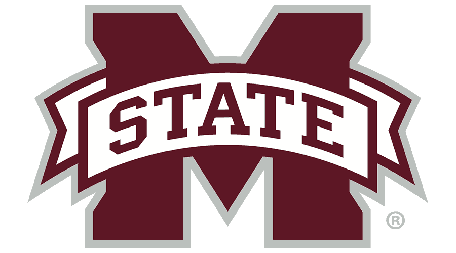 Mississippi State University Athletics Logo Vector
