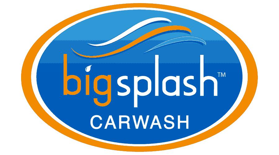 Big Splash Car Wash Logo Vector