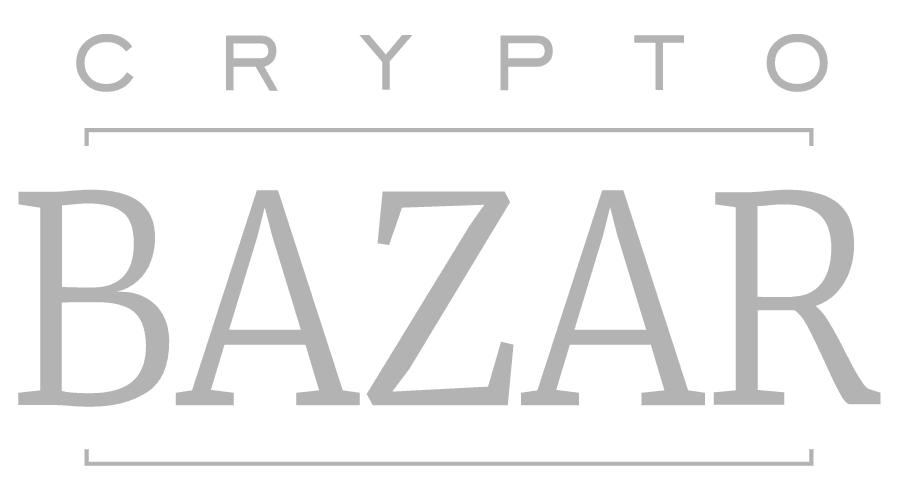 Crypto Bazar Logo Vector
