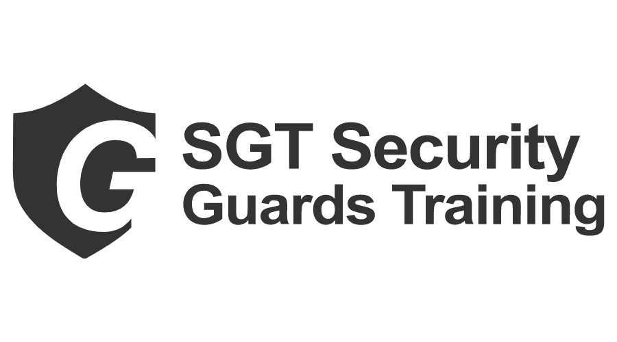 SGT Security Guards Training Logo Vector