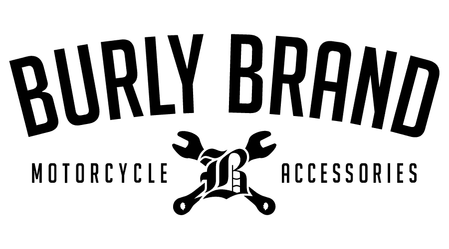 Burly Brand Motorcycle Accessories Logo Vector