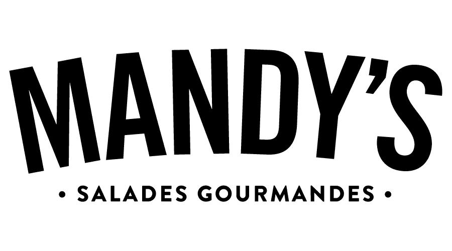 Mandy's Gourmet Salads Logo Vector