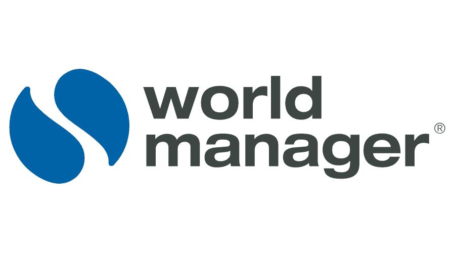 World Manager Logo Vector