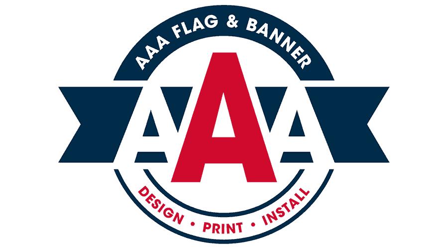 AAA Flag and Banner Logo Vector