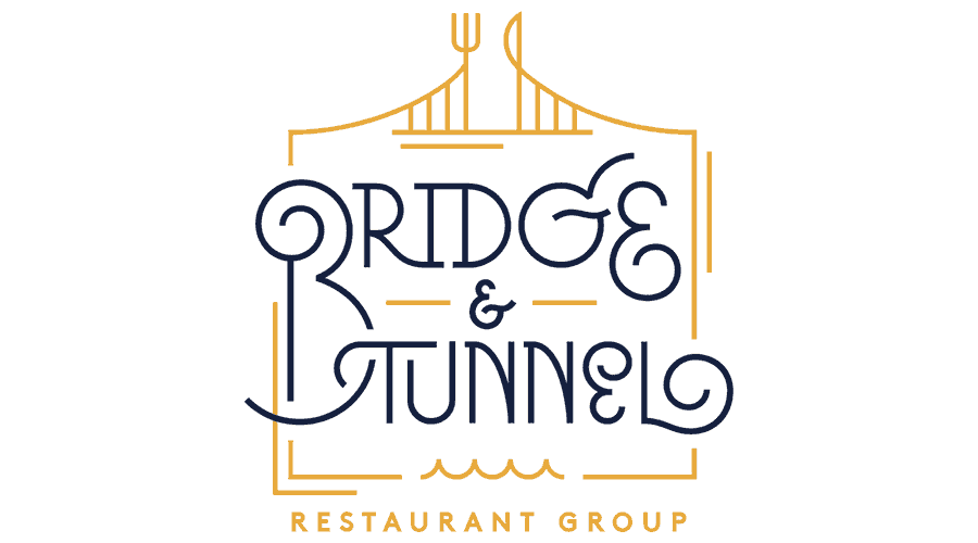 Bridge and Tunnel Resturant Group Logo Vector