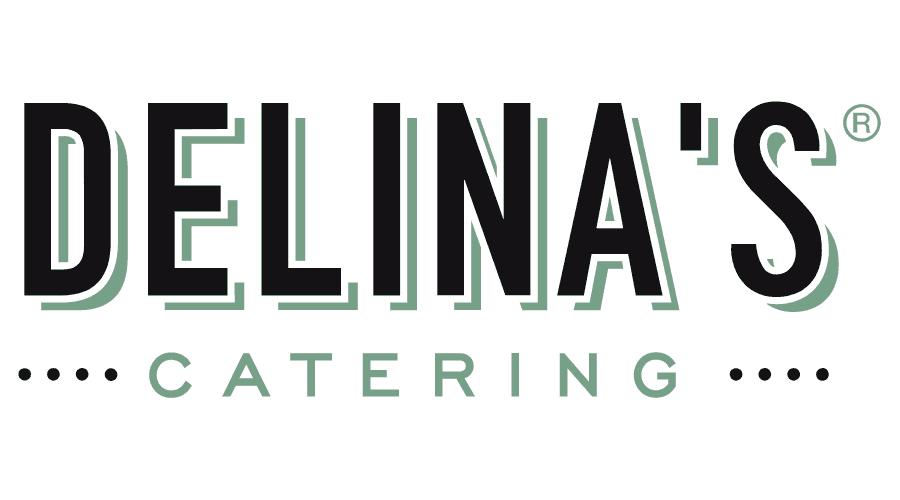 Delina's Catering Logo Vector