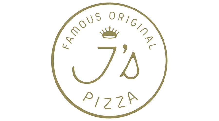 Famous Original J's Pizza Logo Vector