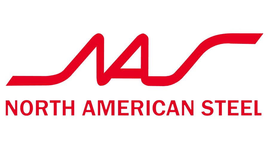 North American Steel (NAS) Logo Vector