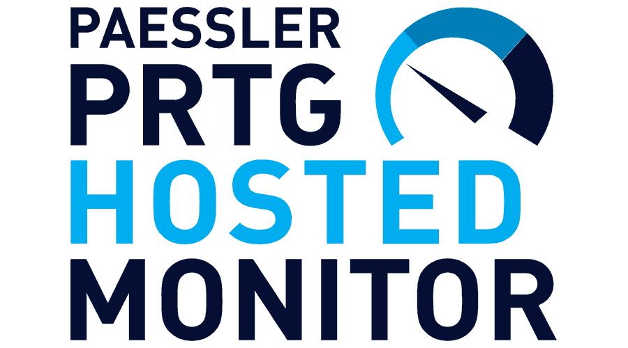 Paessler PRTG Hosted Monitor Logo Vector