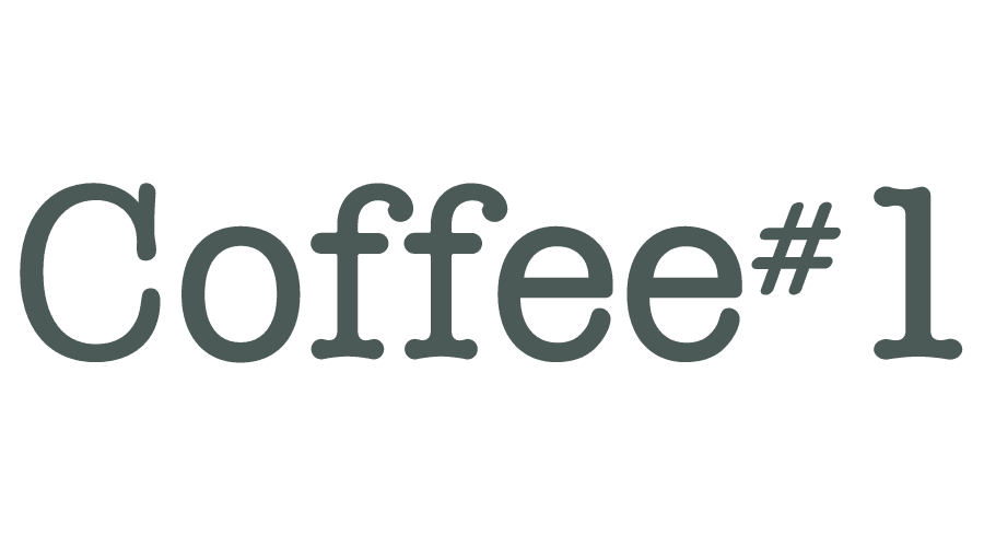 Coffee #1 Logo Vector