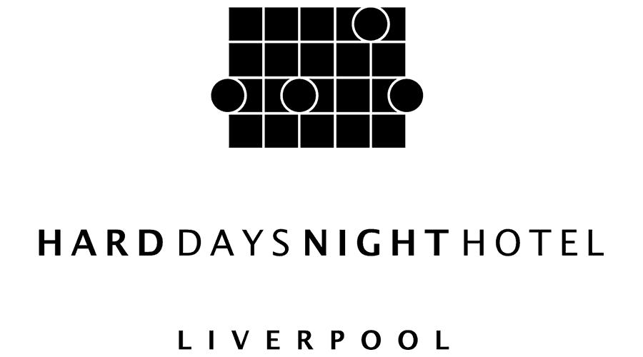 Hard Days Night Hotel Logo Vector