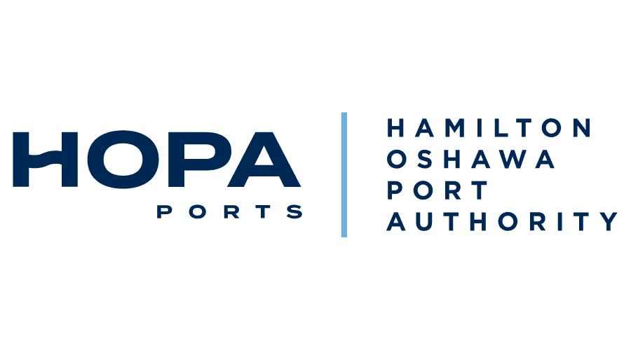 HOPA Ports   Hamilton Oshawa Port Authority Logo Vector