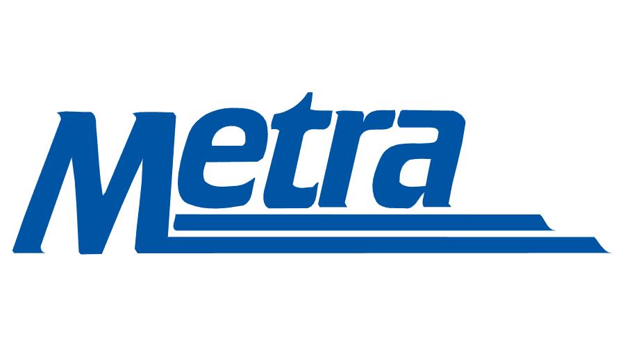Metra Rail Logo Vector