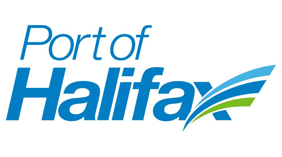 Port of Halifax Logo Vector