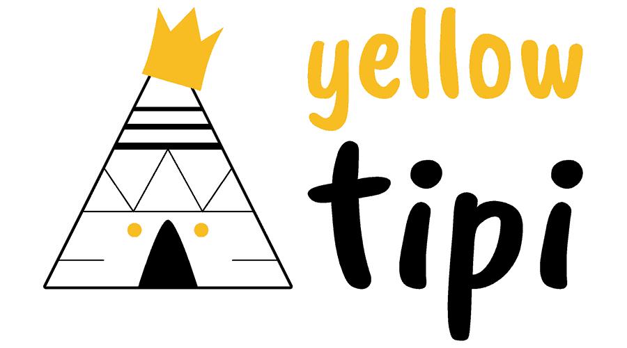 Yellow Tipi Logo Vector