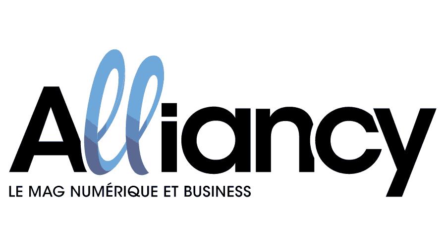 Alliancy, le mag Numérique et Business Logo Vector