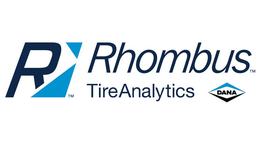 Rhombus TireAnalytics Logo Vector